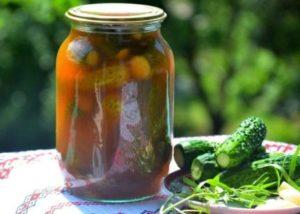 домашние рецепты Огурцы маринованные на зиму