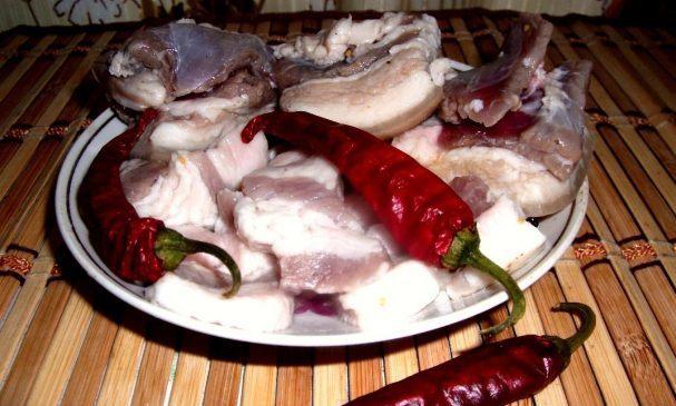Как приготовить маринованное сало