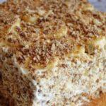 торт без выпечки со сметаной