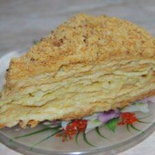 Домашний торт Наполеон из моего детства