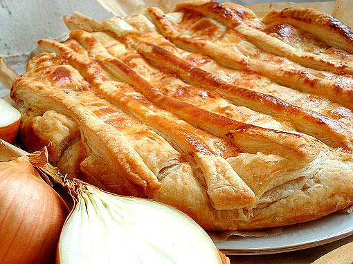 Луковый пирог - изысканная нежность