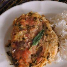 Рецепт дня: сальтимбокка из курицы