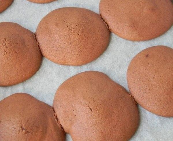 """Шоколадное бисквитное печенье с начинкой """"Марго"""""""