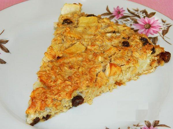 Диетический пирог без муки